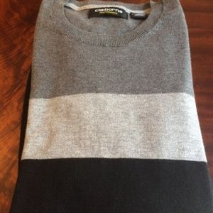 Claiborne Men's Crew Neck Sweater - Small